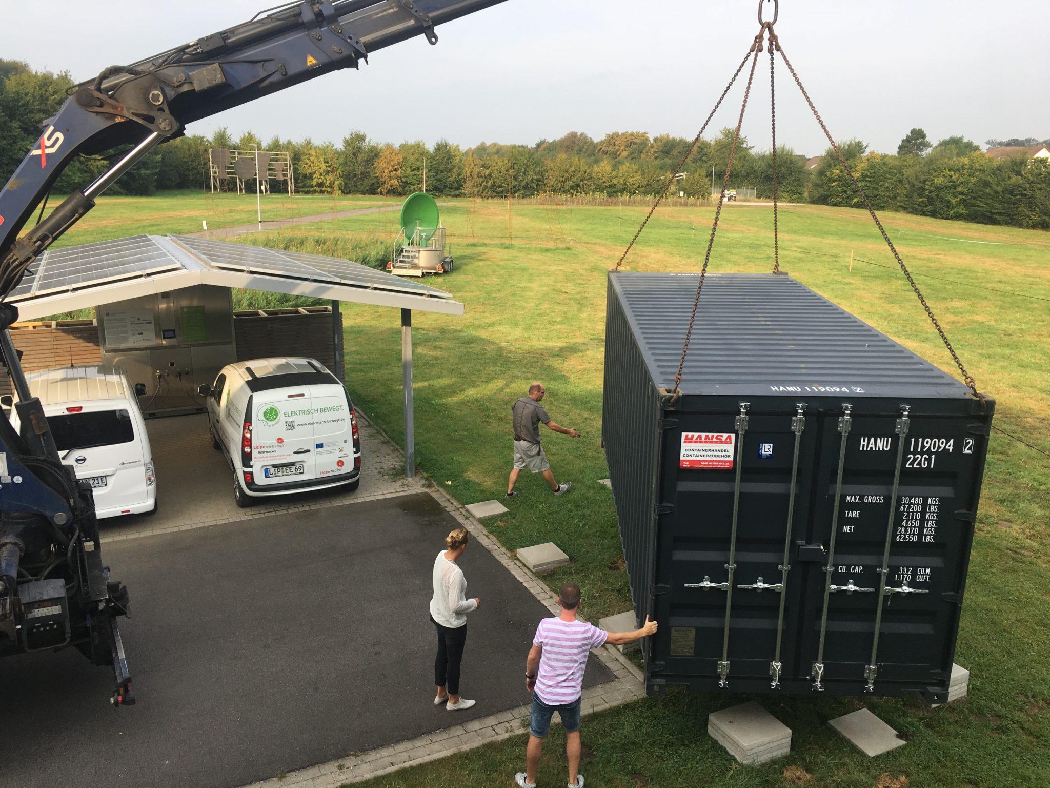 Spatenstich am Innovationszentrum: Erste POWER-TO-GAS-Testanlage in OWL