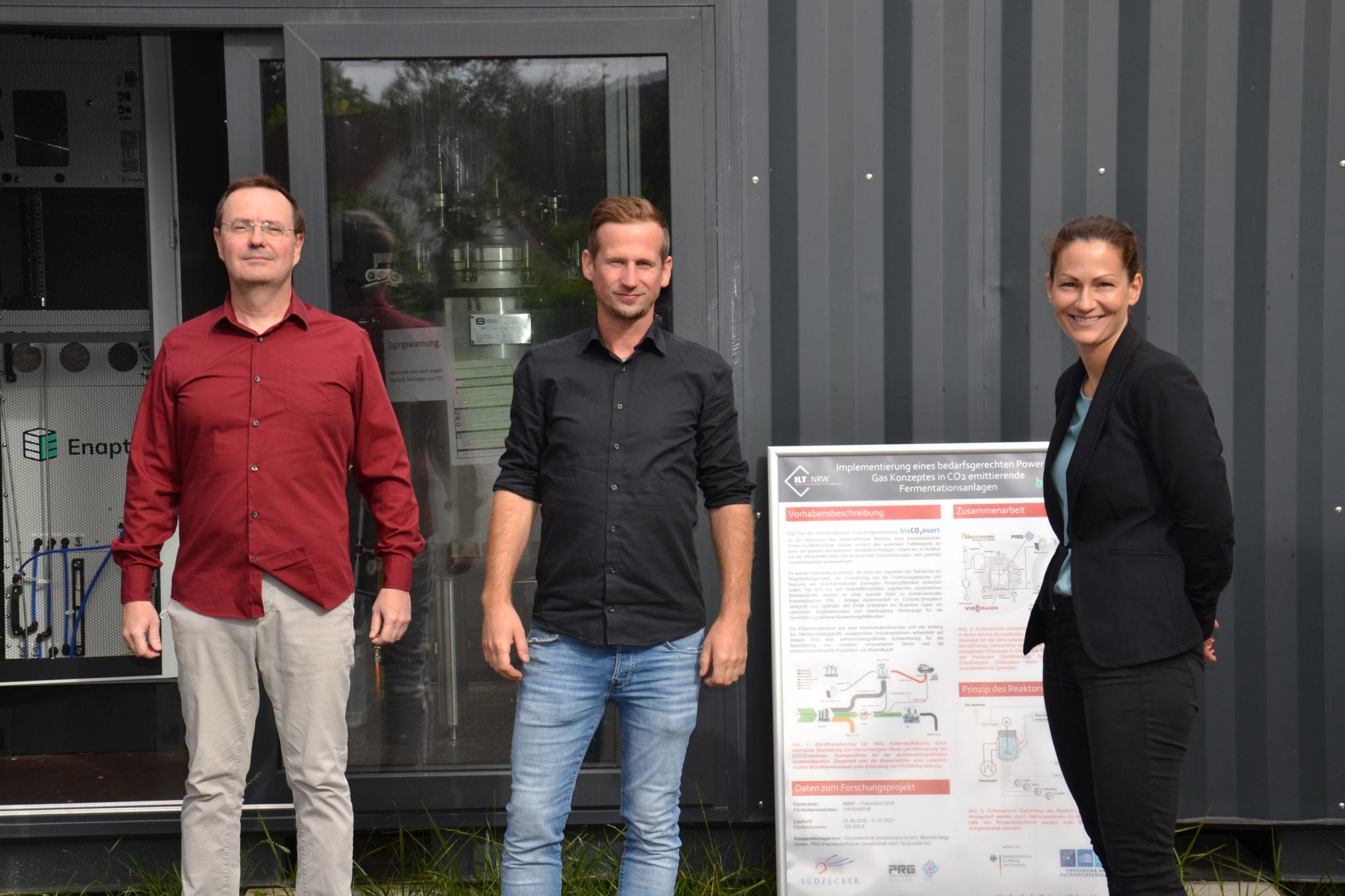 Feldlabor für fluide Energiespeichertechnologie und Sektorenkopplung am Innovationszentrum